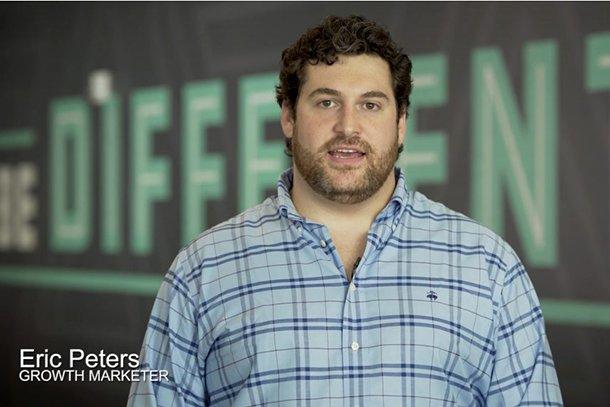 Eric Peters from Hubspot in Hotjar video testimonial
