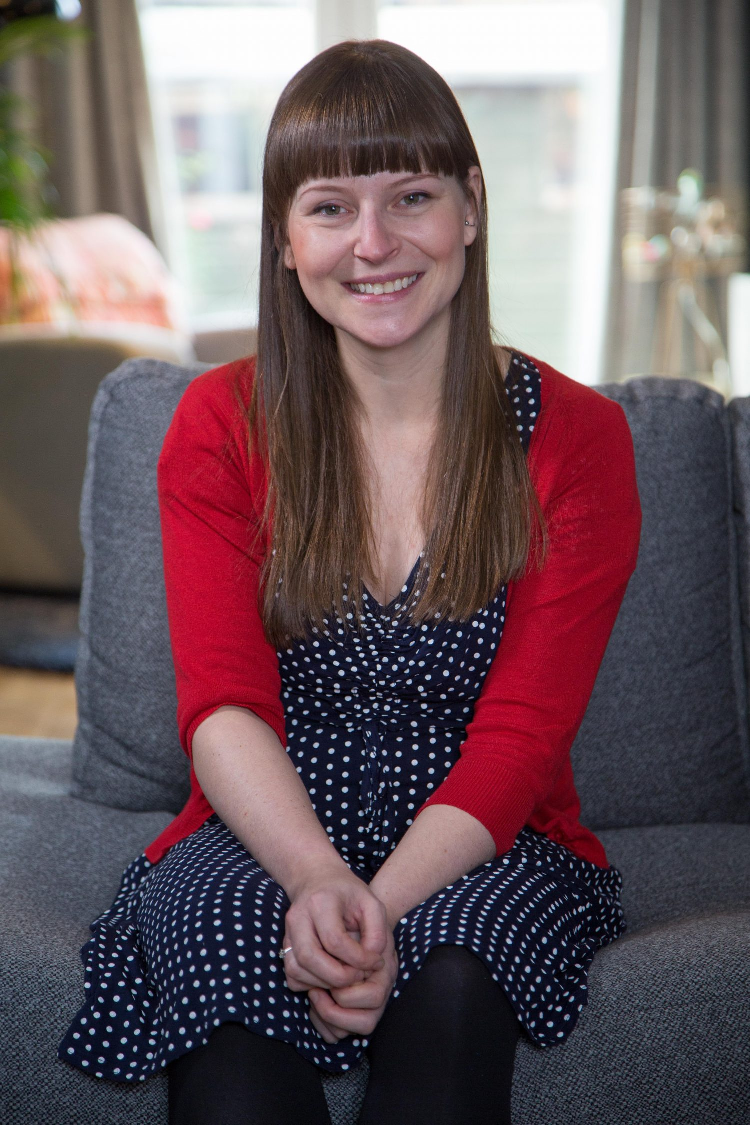 Portrait of young cancer survivor