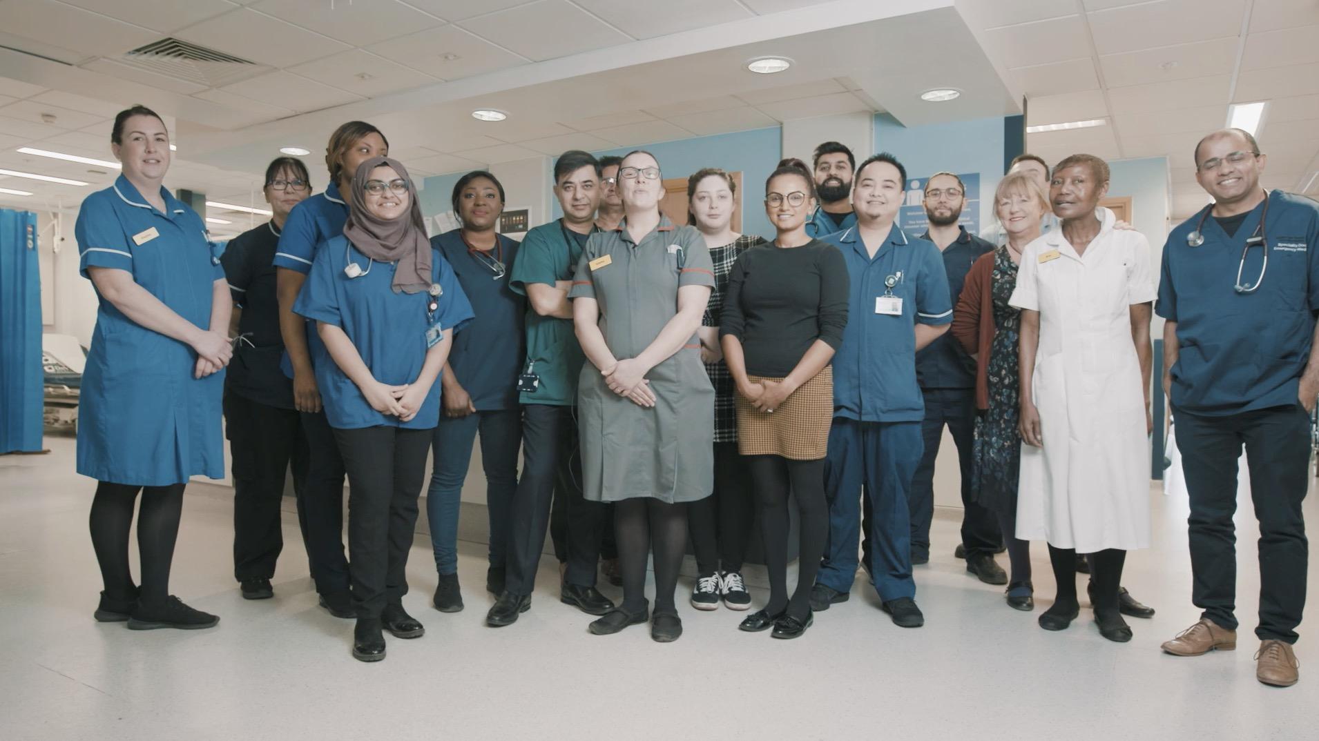 NHS staff video