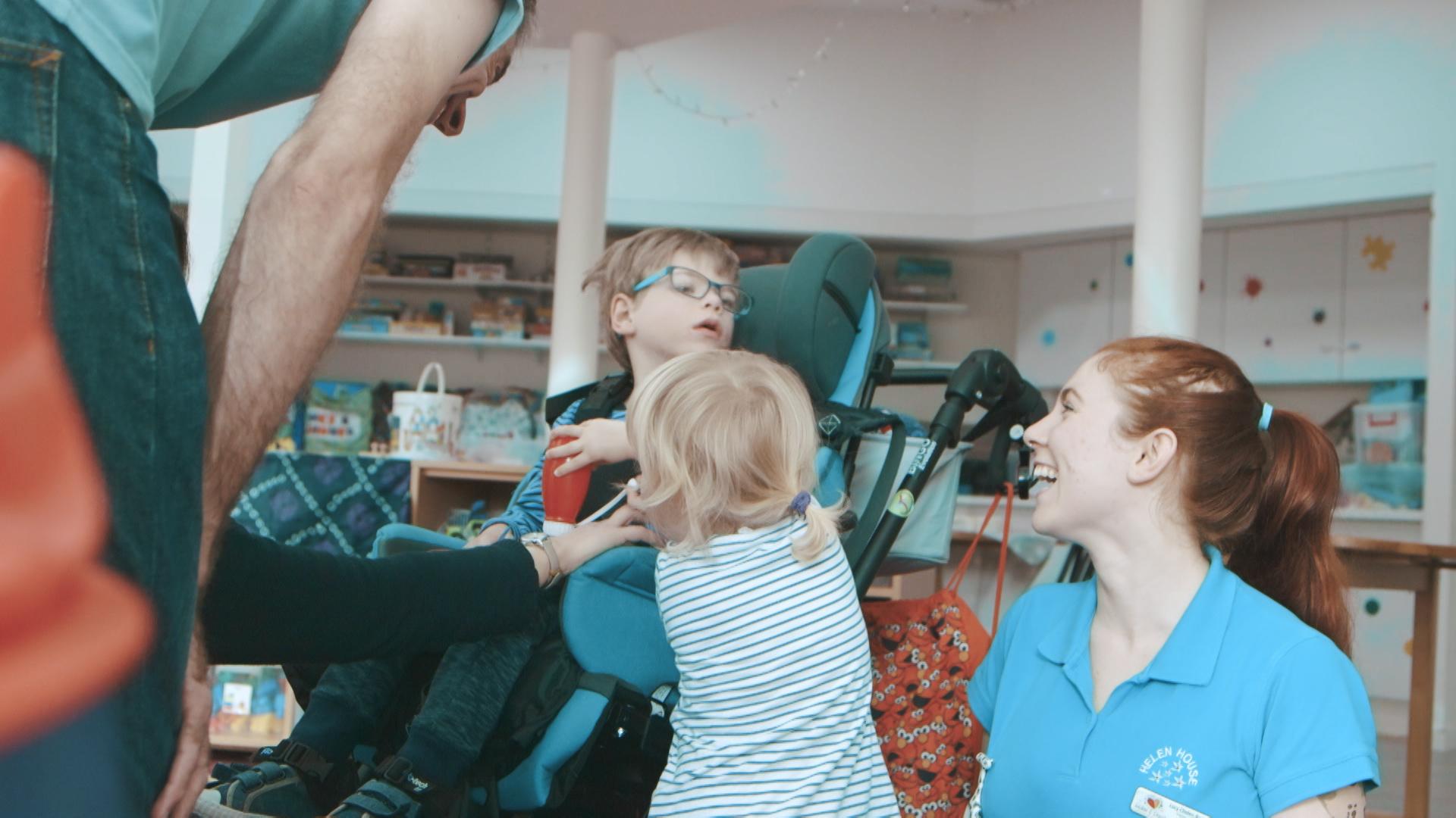 Fundraising video for children's hospice