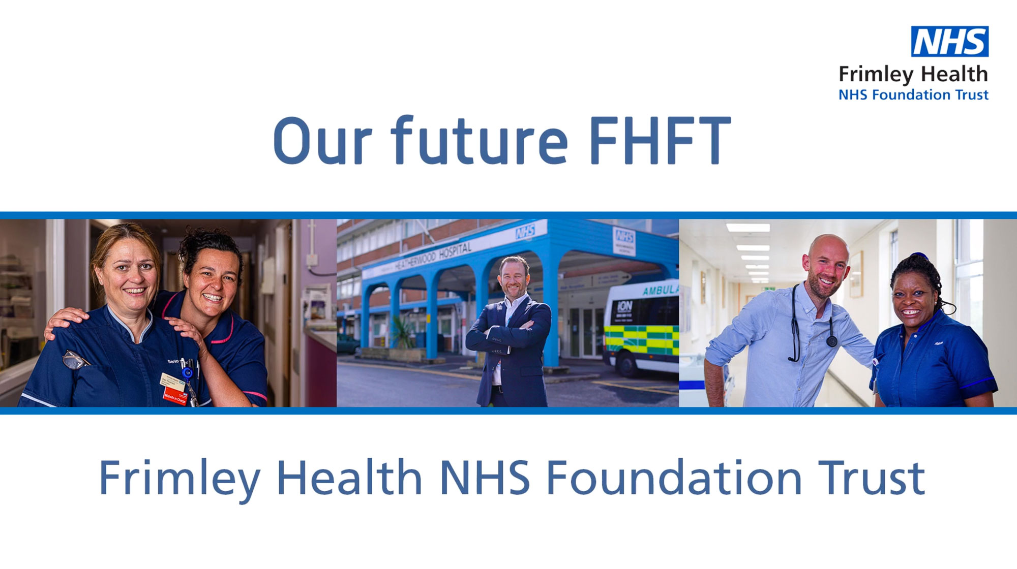 Internal comms video production for NHS Hospital